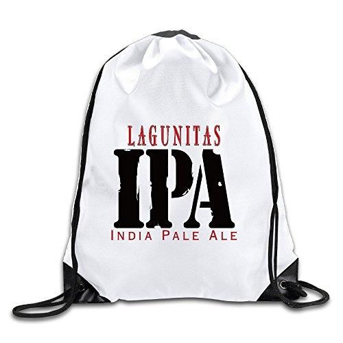 Lagunitas IPA India Pale Ale Sports Drawstring Backpack For Men & Women