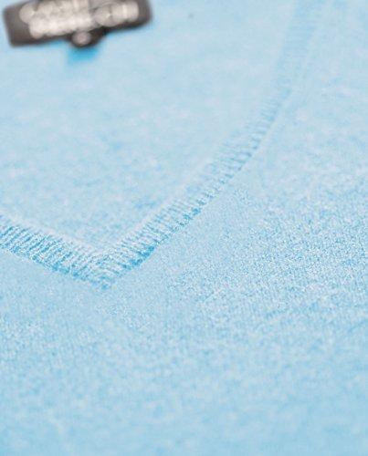 Cash xxl Con ch Scollo Da V 100 Maglione Sweater Donna mere Cachemire A Blu xs Chiaro Pullover rq6R5wXSfr
