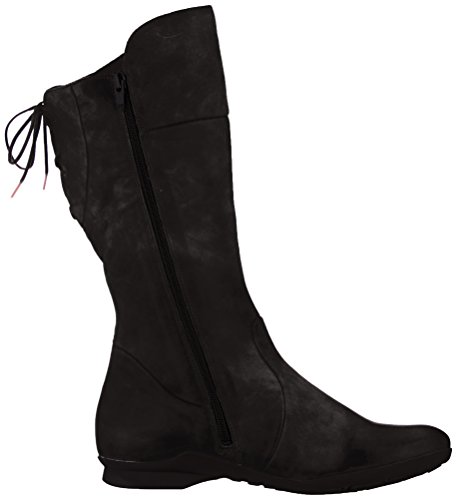 383119 Think Schwarz 00 Keshuel Black Women's Boots High SwRqxFU