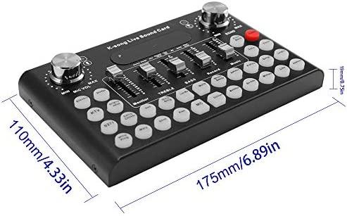Kalaok Teléfono Micrófono Voz Música Audio profesional Auriculares ...