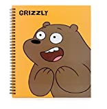 Cartoon Network We Bare Bears Hard Cover Grizzly
