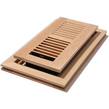 Decor grates wmlf310 u 3 inch by 10 inch wood for 6x12 wood floor register
