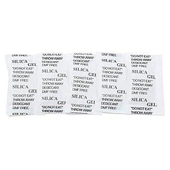 Amazon.com: LotFancy paquete de 100 bolsas desecantes de gel ...
