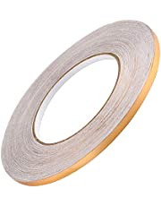 Home Decor Floor Seam Sticker self-adhesive Tile Stickers Decorative Sealing Foil Tape Waterproof Gold Silver DIY Foil Strip Wall Sticker (Gold, M-1CM-50M)