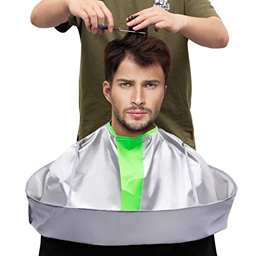 Hair Cutting Capes for Adult/Kids Umbrella Design Barber Salon Cape Keep Hair Off Clothes and Floor