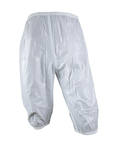 Haian Adult Incontinence Pull-on Plastic Bloomers (XL-XXL, White)
