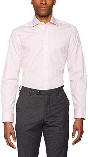 Hackett London Poplin Slim BC Camisa para Hombre