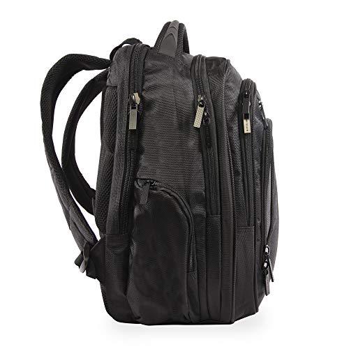 41nww0QZT8L - Perry Ellis M160 Business Laptop Backpack, Black