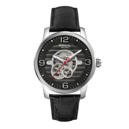 BRAND NEW Breil Men's Miglia Black Dial Automatic Watch TW1256