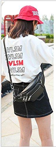 Casual PINCHU Accessory Bag Pocket Punk Multi Vintage Designer Belt Women Waist Bag 0TrB0q
