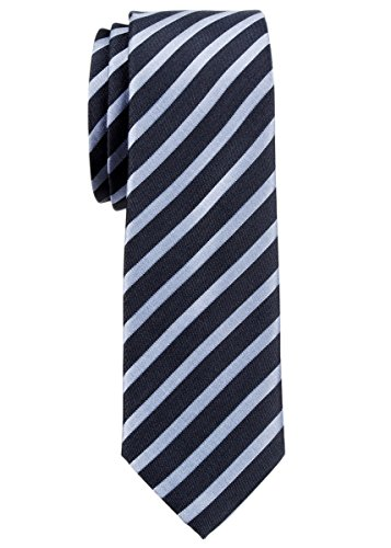 Black Diagonal Striped Tie - Retreez Stylish Diagonal Striped Woven Microfiber 2