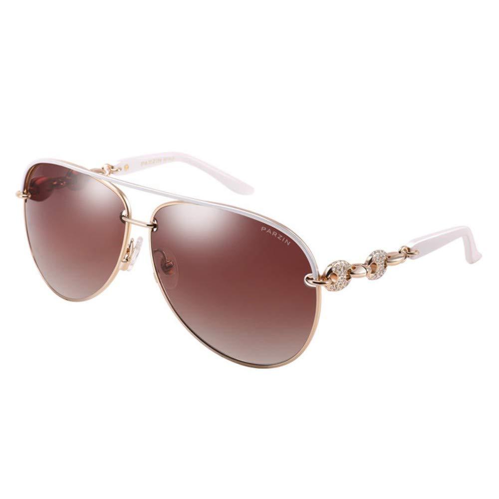 Women'S Polarized Sunglasses Elegant Design Nylon Lens Trend Fashion Sunglasses White