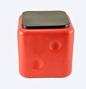 Sarangware Dice Sitting Stool (Red)