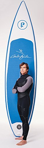 Supflex iSUP 10'8' by Carlos Burle (6' Thick) Inflatable Stand Up Paddle Board Package - Board,...