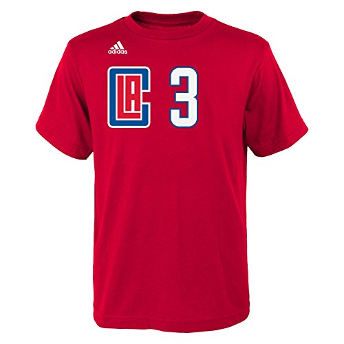 Outerstuff NBA Los Angeles Clippers Boys 8-20 Name and Number Tee Short...