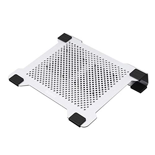 ORICO Laptop Cooling Pad Stand with USB Powered Fan at 3000±10% RPM Aluminum Radiator for MacBook Air Pro 14-17