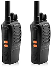 CallToU Two-Way Wireless walkie Talkie 16 Channel Rechargeable, Suitable for Home Elderly People with Disabilities, Caregivers, pagers, Long Range Outdoor, Indoor