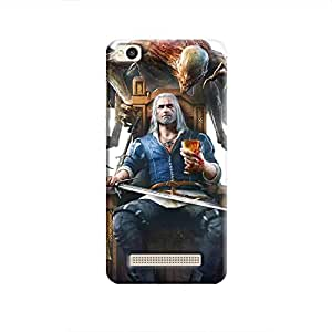 Cover It Up - Relax Witcher Redmi 4A Hard Case