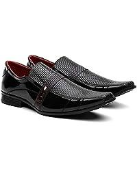 Sapato Social Masculino Verniz Moderno Leve Conforto