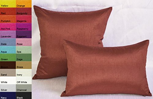 creative-solid-decorative-pillow-covers-throw-pillow-covers-12-by-18-terracotta