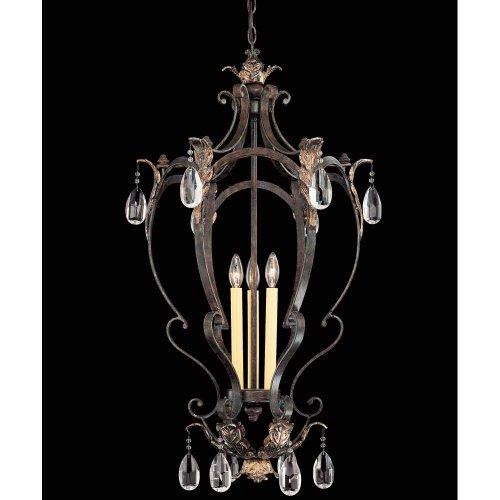 Savoy House 3-4056-3-124 Hensley Foyer Fiesta Bronze 3 - C Bulbs - Savoy House Foyers Ceiling Pendant