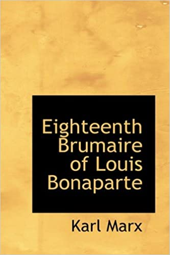 Eighteenth Brumaire of Louis Bonaparte