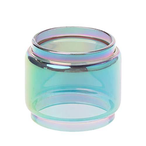 Fahou Regenbogen Transparent Vape Glasrohr Glas Tank Elektronische Zigarette Zubehör Für Tfv12 Prince Verdampfer…