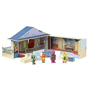 Barney Deluxe Schoolhouse Playset (with play figures)