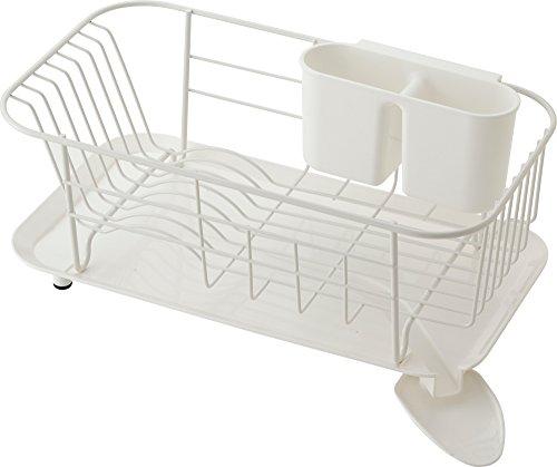 Risu Water Safe WOODE Steel Dish Rack Slim W 16012