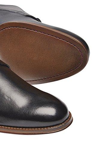next Hombre Zapatos De Vestir Lisos Italia Negro