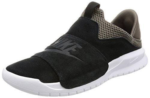 Nike Mens Benassi Slip Sneaker Zwart / Zwart-donker Paddestoel