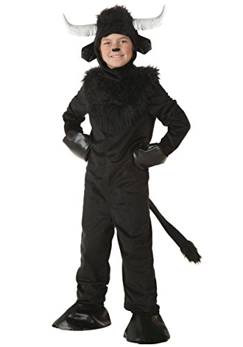 Kids Bull Costumes (Big Boys' Bull Costume Medium)