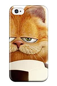 Ortiz Bland Case Cover Protector Specially Made For Iphone 4/4s Cartoon Garfield