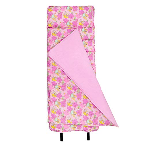 Wildkin Original Nap Mat, Features Built-In Blanket and Pillow, Perfect for Daycare and Preschool or Napping On-the-Go Fairies