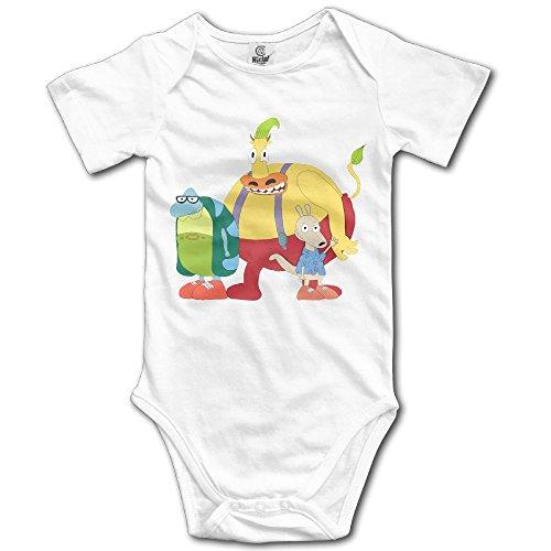 Grace Little Rocko's Modern Life Unisex Cool Toddler Romper Baby Boy Vest 6 M White