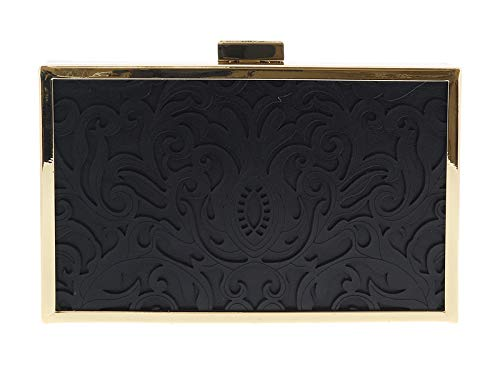 HXLPB3 Cavalli Box Black 999 Clutch for Womens Roberto qSPH5q