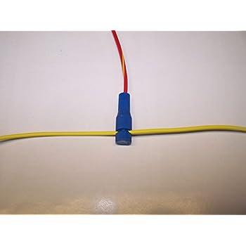 Amazon.com: Posi-Tap, Red Mini (10) Inline Wire Connectors 20-22, GA ...