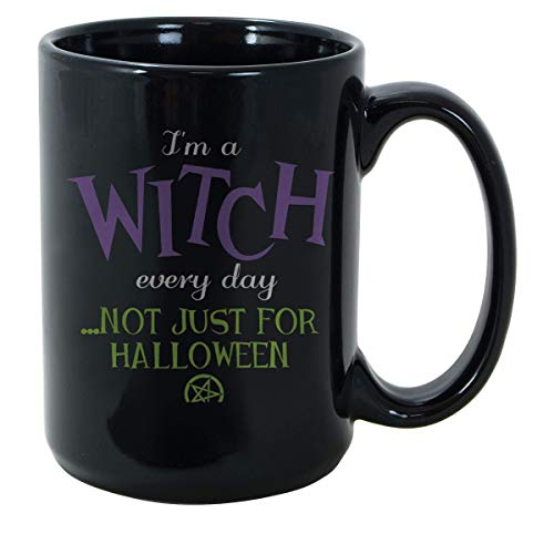 SAYOMEN - Wiccan Pagan Halloween - Im a witch every day by teezer79 Valentine Holiday Shirt Valentine Holiday MUG 11oz - Birthday Gift, Father's Day Mug, Wedding Mug, Christmas Gift, Funny Mug. -