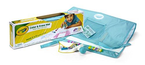 Crayola Color & Erase Mat, Travel Coloring Kit, Gifts, Ages 3, 4, 5, 6 JungleDealsBlog.com