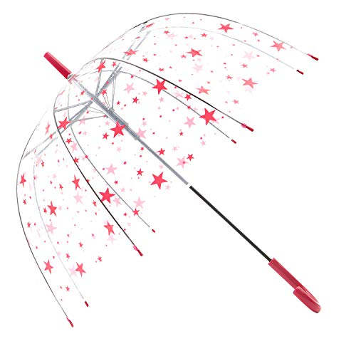 HAOCOO Star Clear Umbrella,Bubble Transparent Fashion for sale  Delivered anywhere in USA
