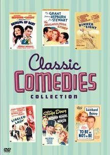 Classic Comedies Collection (Bringing Up Baby / The Philadelphia Story Two-Disc Special Edition / Dinner at Eight / Libeled Lady / Stage Door / To Be or Not to Be) by POWELL,WILLIAM
