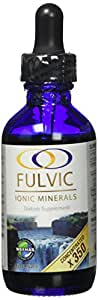 Fulvic Ionic Minerals X350 (2 oz) - More then Double the Concentration of most Concentrated Fulvic on the Market!