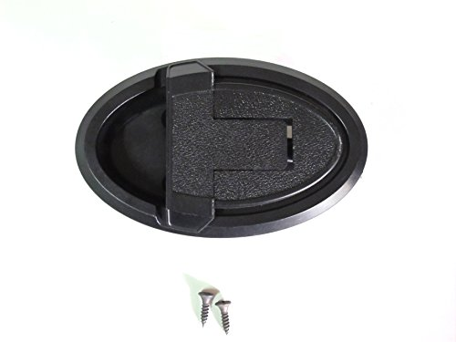 Kuanyu Plastic Recliner Replacement Handle Larger Face (Football Style) w/ Screws. For Sale