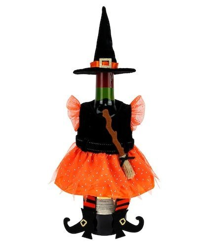 Celebrate Together Decorative Halloween Witch Hat Wine Bottle Cover -