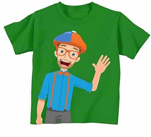 Blippi Cartoon Shirt