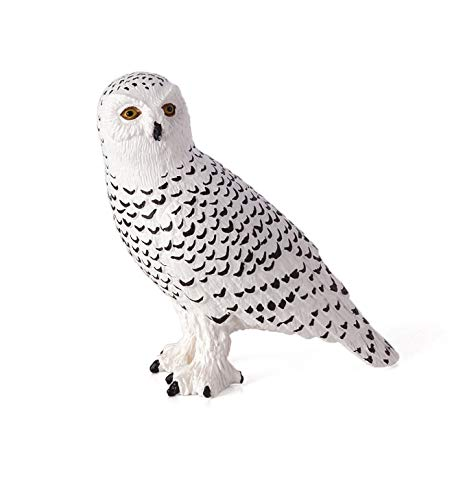 - MOJO Snowy Owl Toy Figure