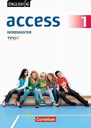 English G Access - Allgemeine Ausgabe: Band 1: 5. Schuljahr - Wordmaster mit Lösungen: TING-fähiges Vokabelübungsheft