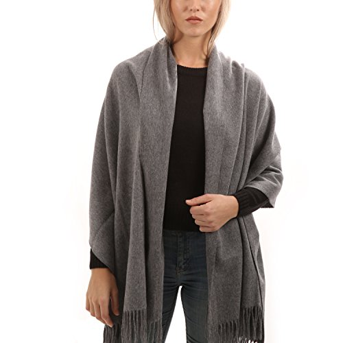 (Cashmere Wool Scarf - Extra Large 28