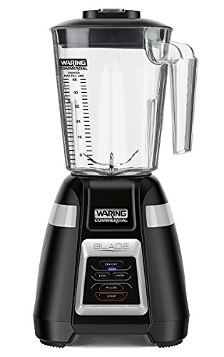 Waring Commercial BB320 bar Blender with Electronic Keypad, Black