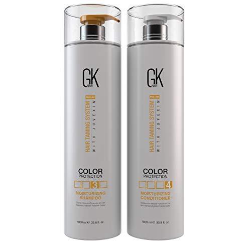 GK Hair Moisturizing Shampoo & Conditioner,33.8 ounce set by GKhair